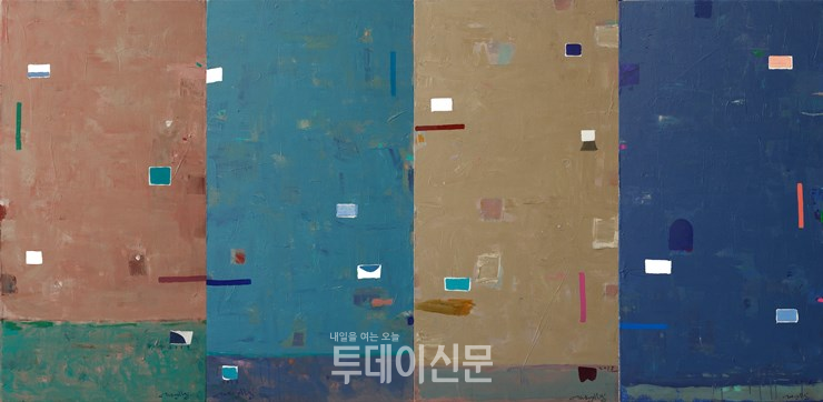 The Language of Light-BLUE Four Seasons 빛의 언어-블루 - 사계 LL18-24,25,26,27 100x_